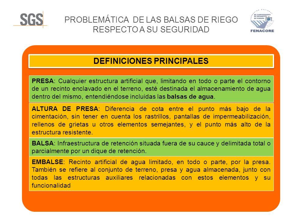 DEFINICIONES PRINCIPALES