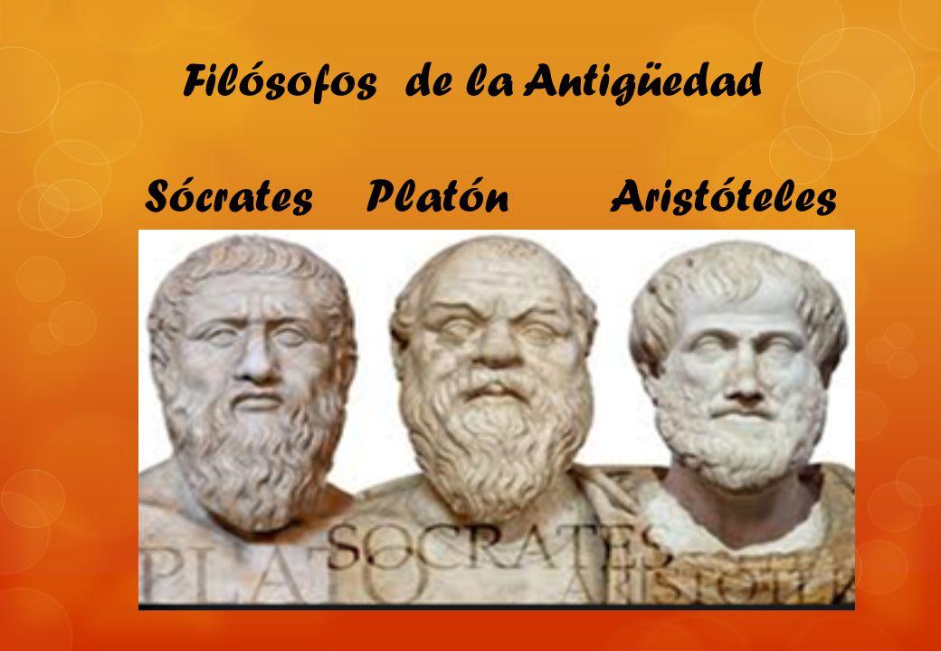 Filósofos de la Antigüedad