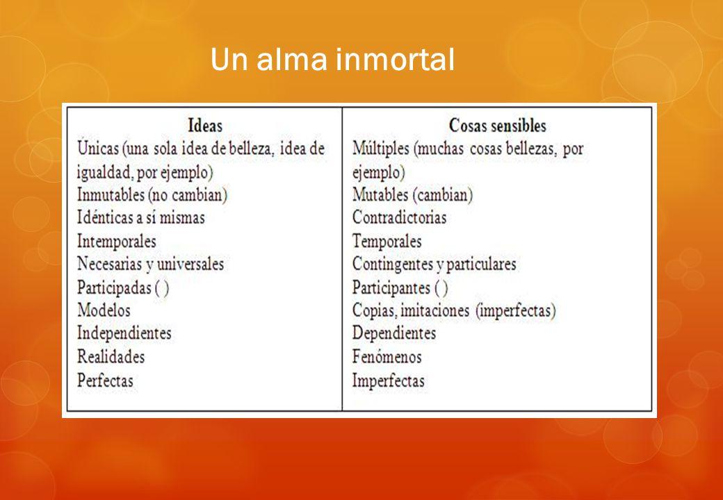 Un alma inmortal