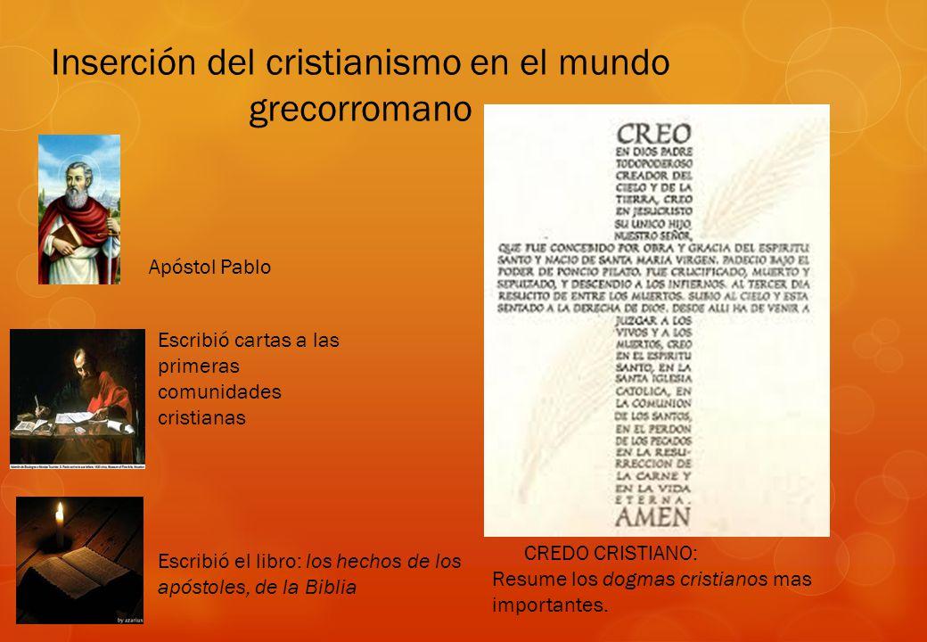 Inserción del cristianismo en el mundo grecorromano