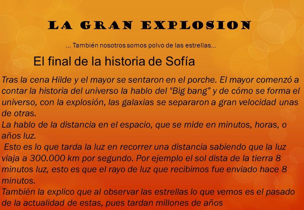 El final de la historia de Sofía