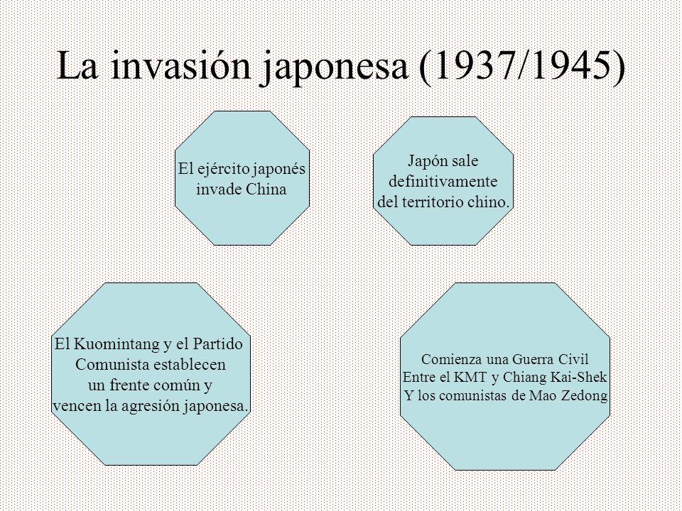 La invasión japonesa (1937/1945)