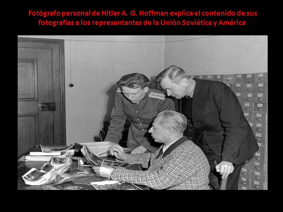 Fotógrafo personal de Hitler A. G