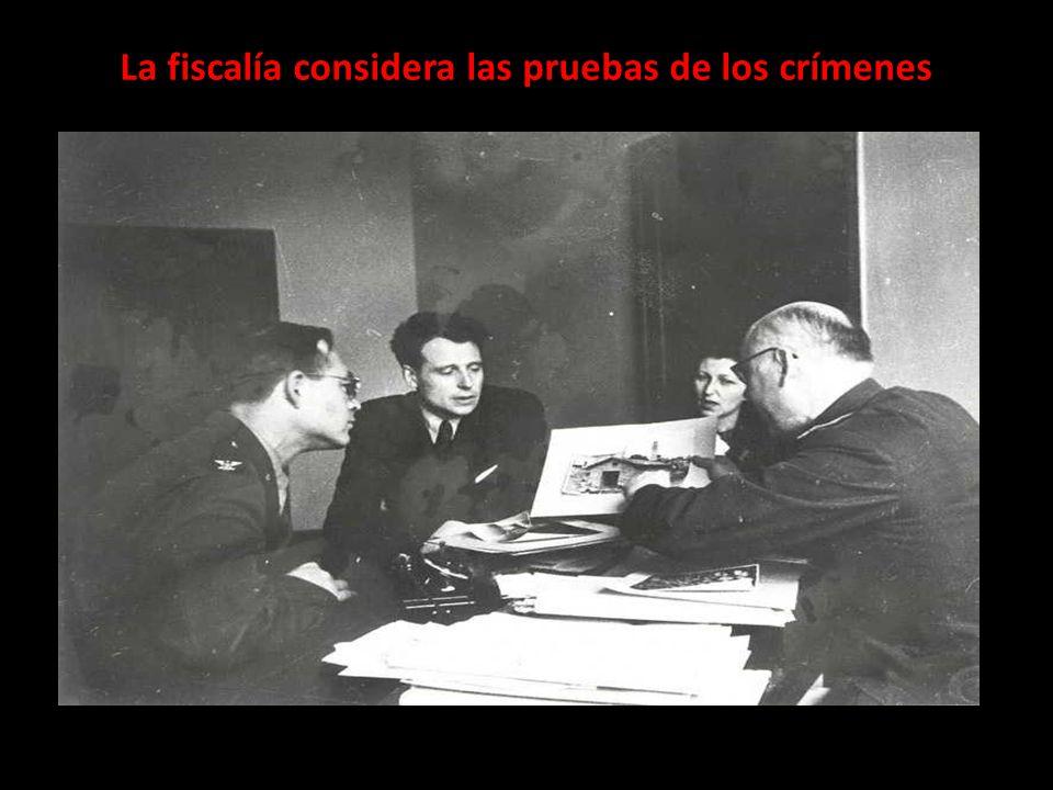La fiscalía considera las pruebas de los crímenes
