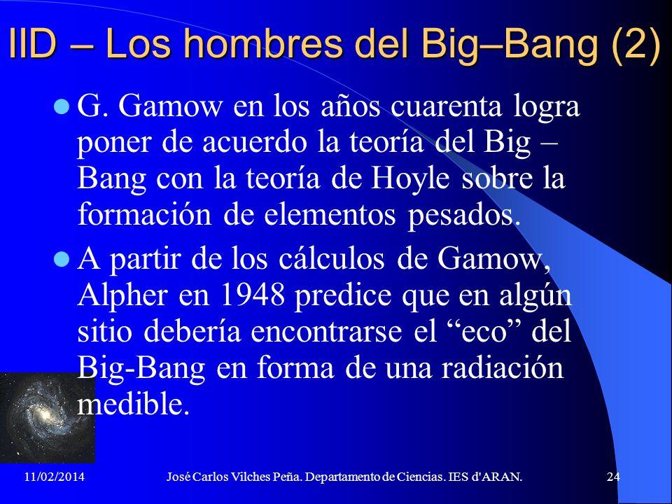 IID – Los hombres del Big–Bang (2)