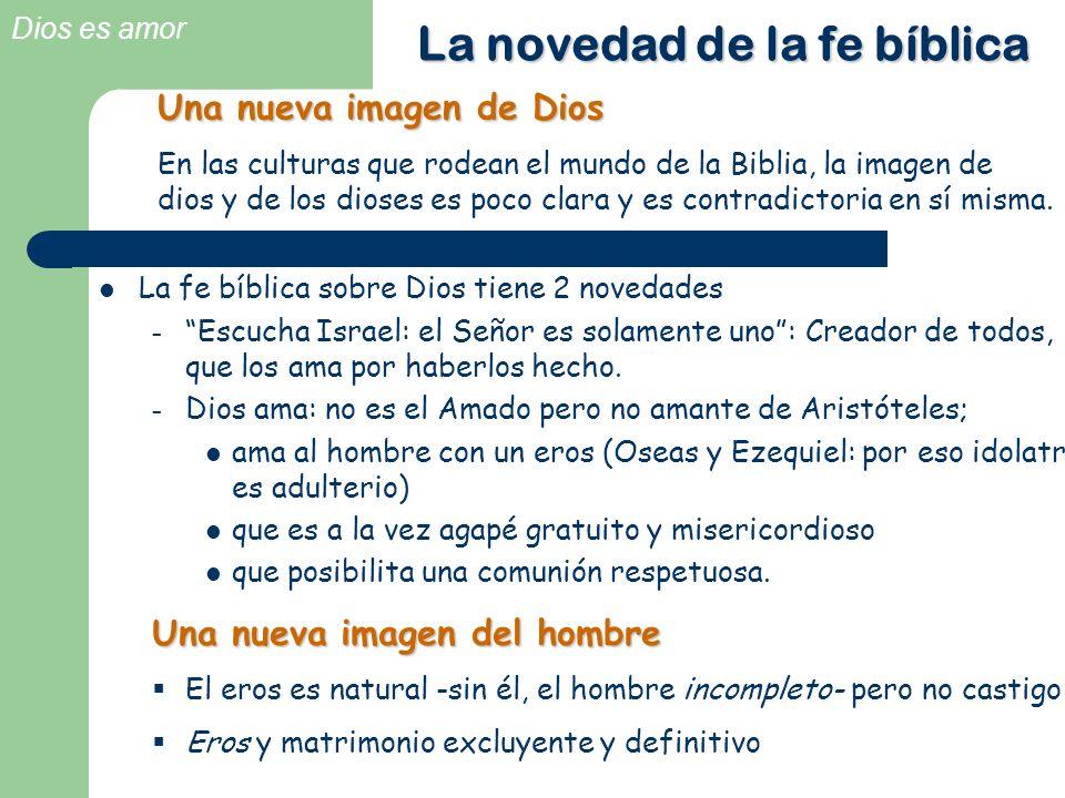 La novedad de la fe bíblica