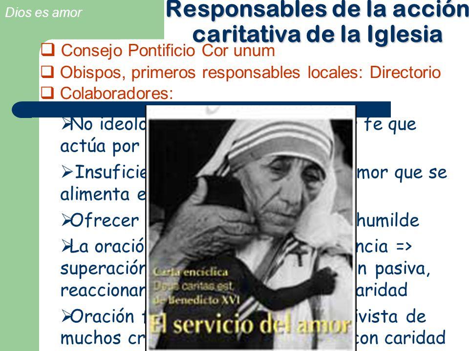 Responsables de la acción caritativa de la Iglesia