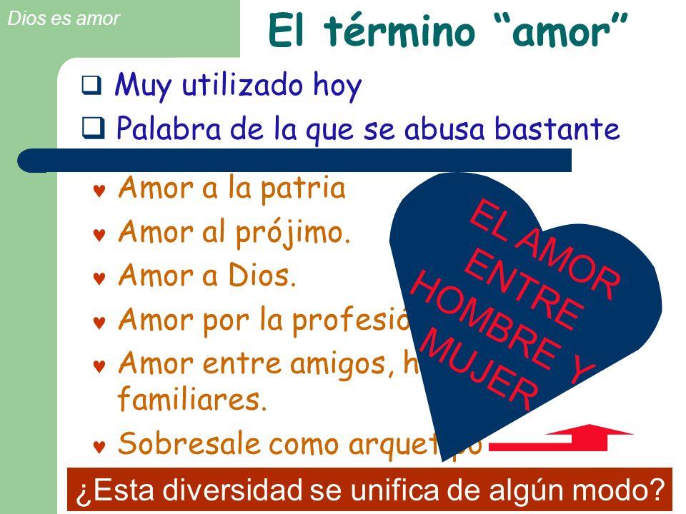 EL AMOR ENTRE HOMBRE Y MUJER