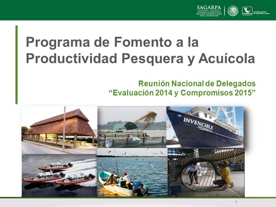 Programa de Fomento a la Productividad Pesquera y Acuícola