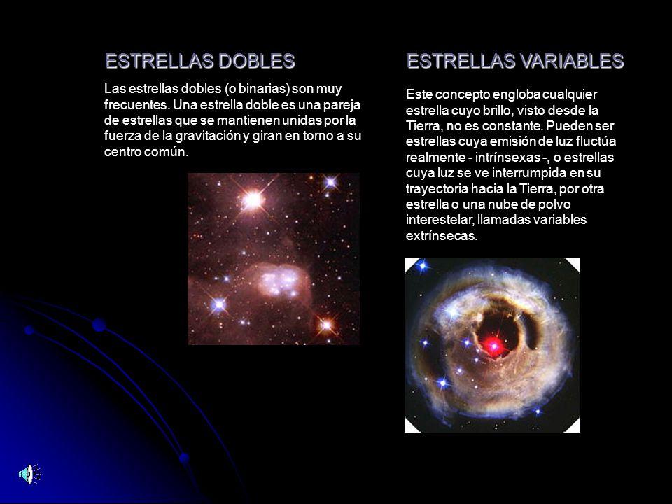 ESTRELLAS DOBLES ESTRELLAS VARIABLES