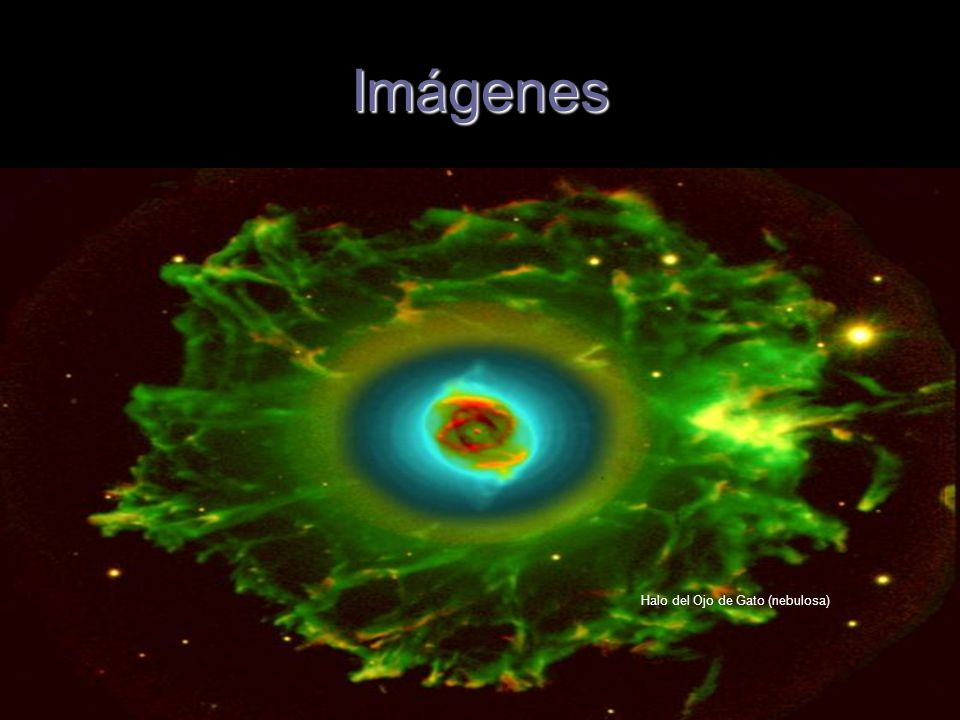 Imágenes Halo del Ojo de Gato (nebulosa)
