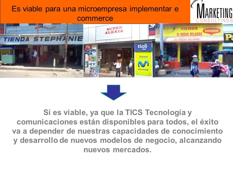 Es viable para una microempresa implementar e commerce