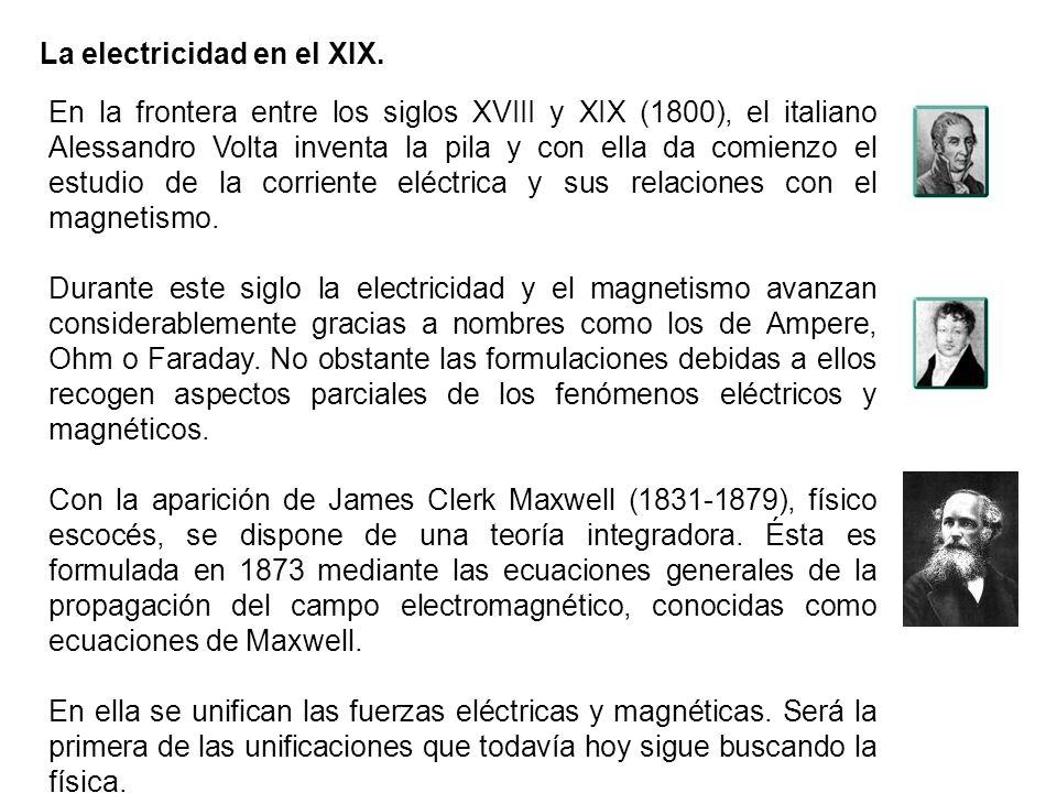La electricidad en el XIX.
