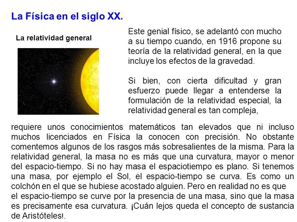 La Física en el siglo XX.