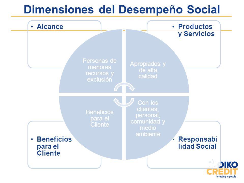 Dimensiones del Desempeño Social