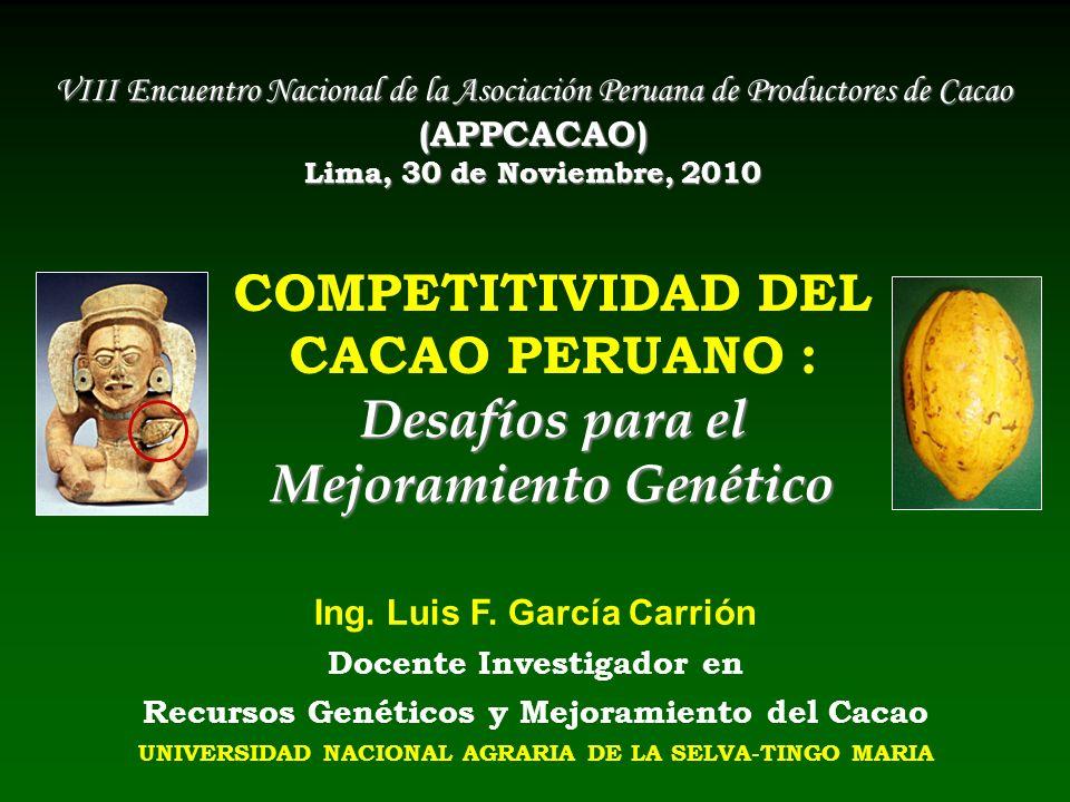 VIII Encuentro Nacional de la Asociación Peruana de Productores de Cacao