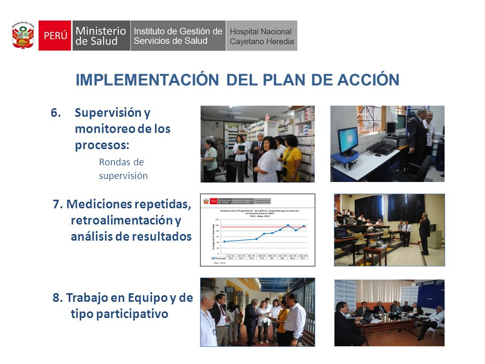 IMPLEMENTACIÓN DEL PLAN DE ACCIÓN