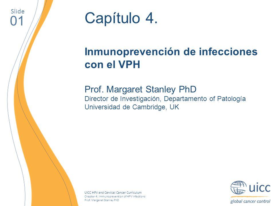 Capítulo 4. 01 Inmunoprevención de infecciones con el VPH