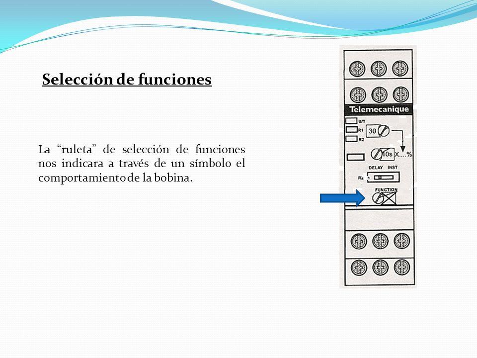 Selección de funciones