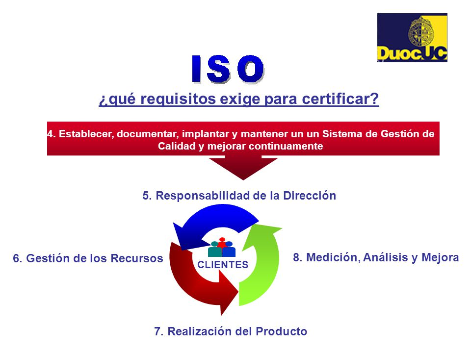 ¿qué requisitos exige para certificar