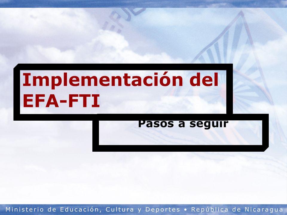 Implementación del EFA-FTI