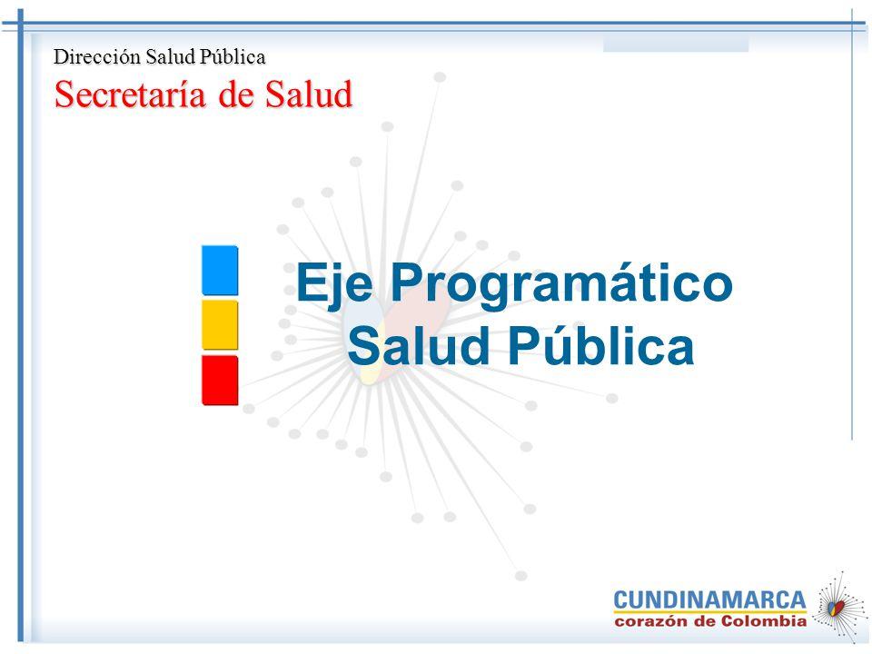 Eje Programático Salud Pública