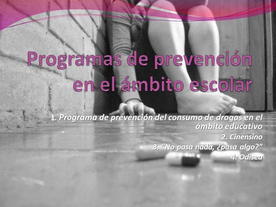 Programas de prevención en el ámbito escolar