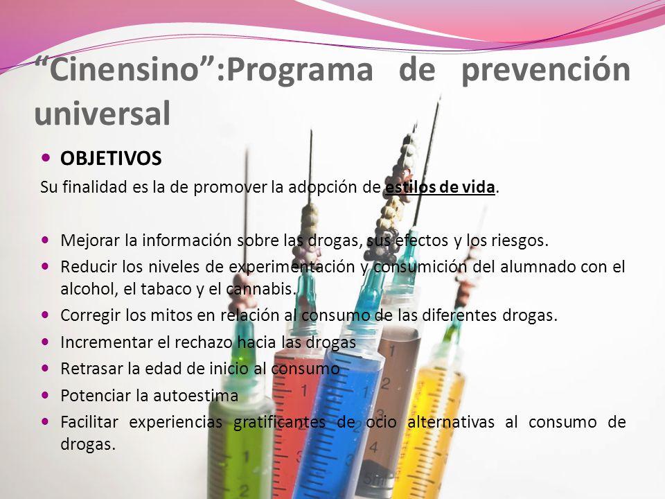 Cinensino :Programa de prevención universal