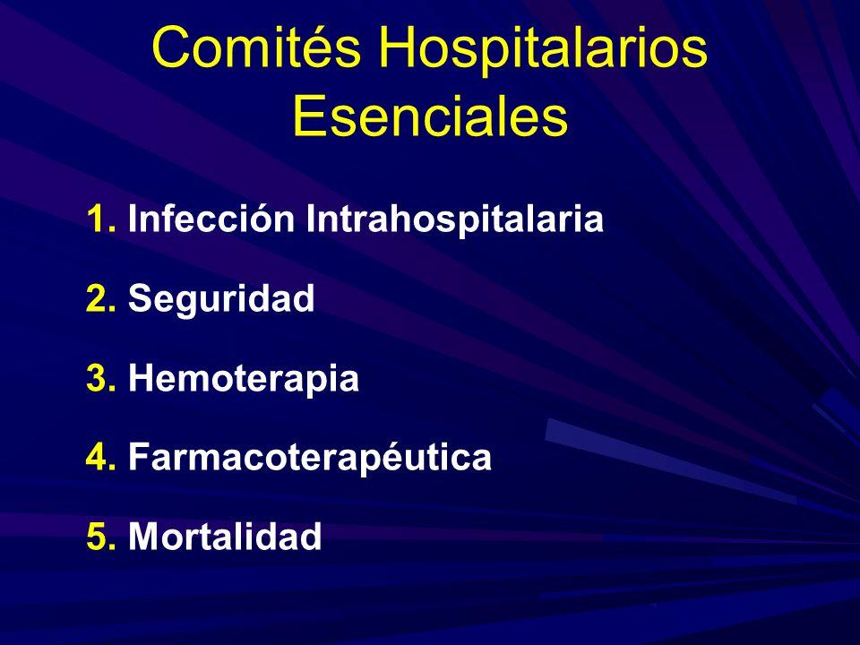 Comités Hospitalarios Esenciales