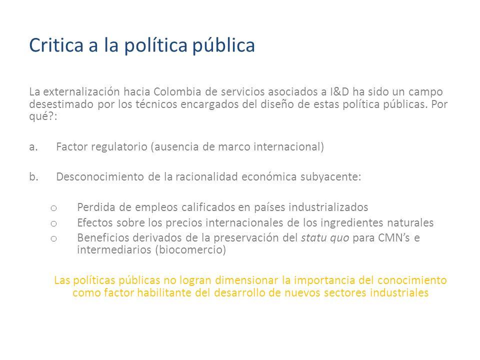 Critica a la política pública