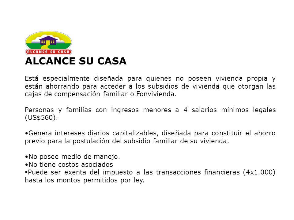 ALCANCE SU CASA
