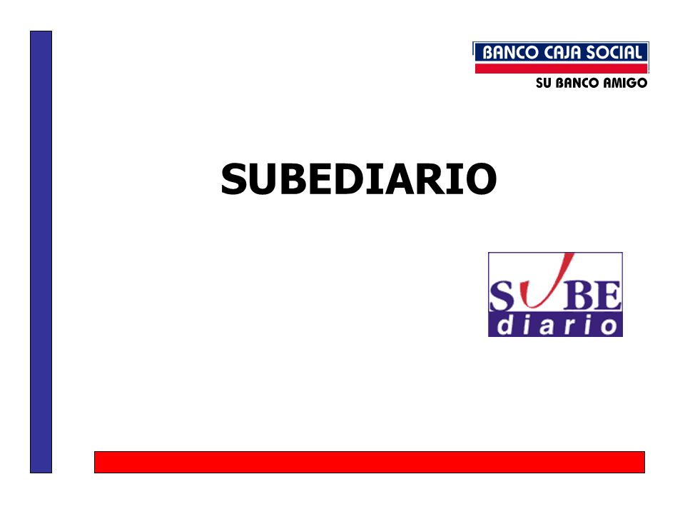 SUBEDIARIO