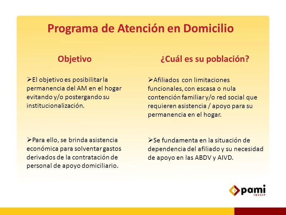 Programa de Atención en Domicilio