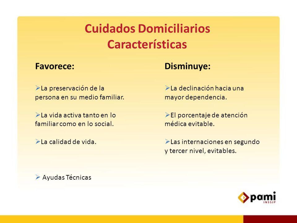 Cuidados Domiciliarios