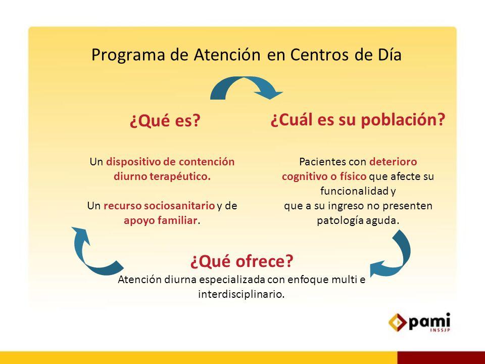 Programa de Atención en Centros de Día