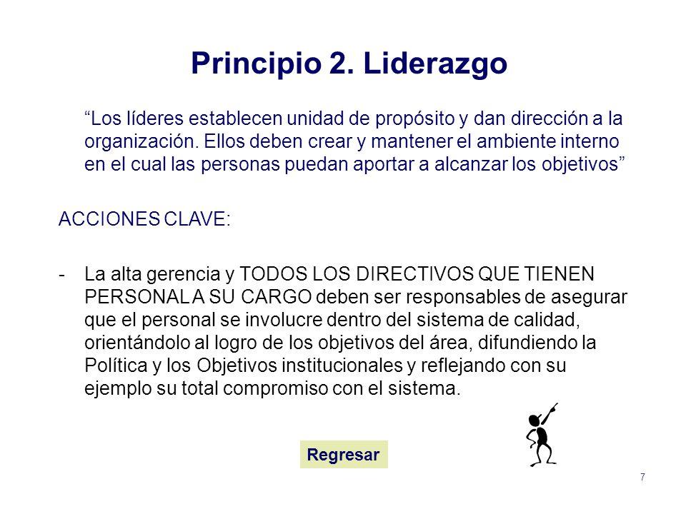 Principio 2. Liderazgo