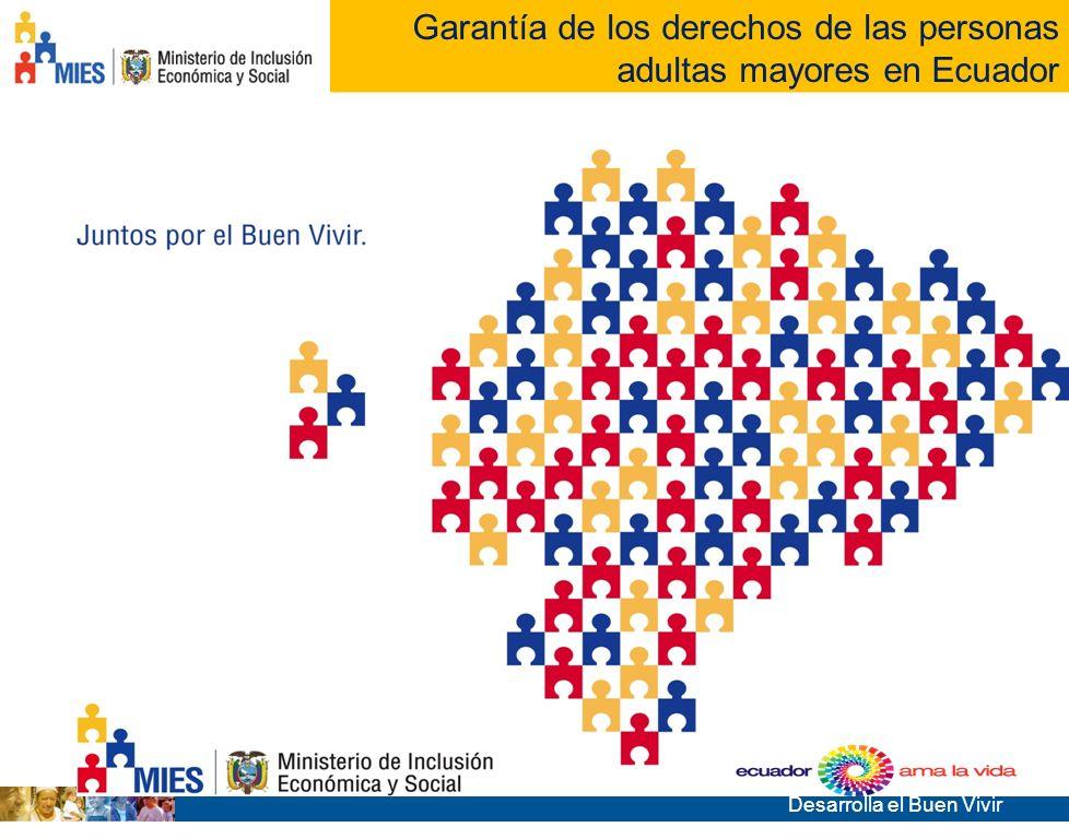 Garantía de los derechos de las personas adultas mayores en Ecuador