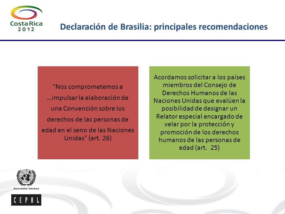 Declaración de Brasilia: principales recomendaciones