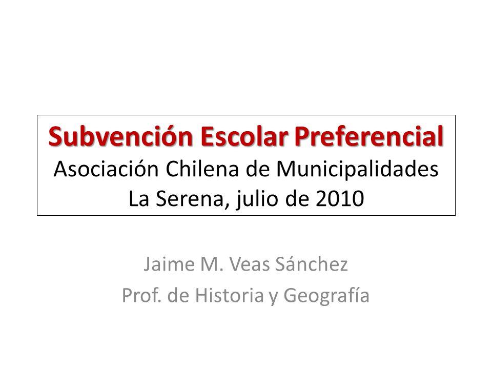 Jaime M. Veas Sánchez Prof. de Historia y Geografía
