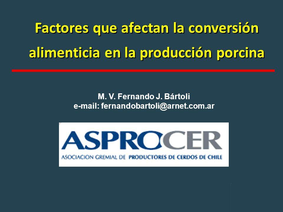 M. V. Fernando J. Bártoli e-mail: fernandobartoli@arnet.com.ar