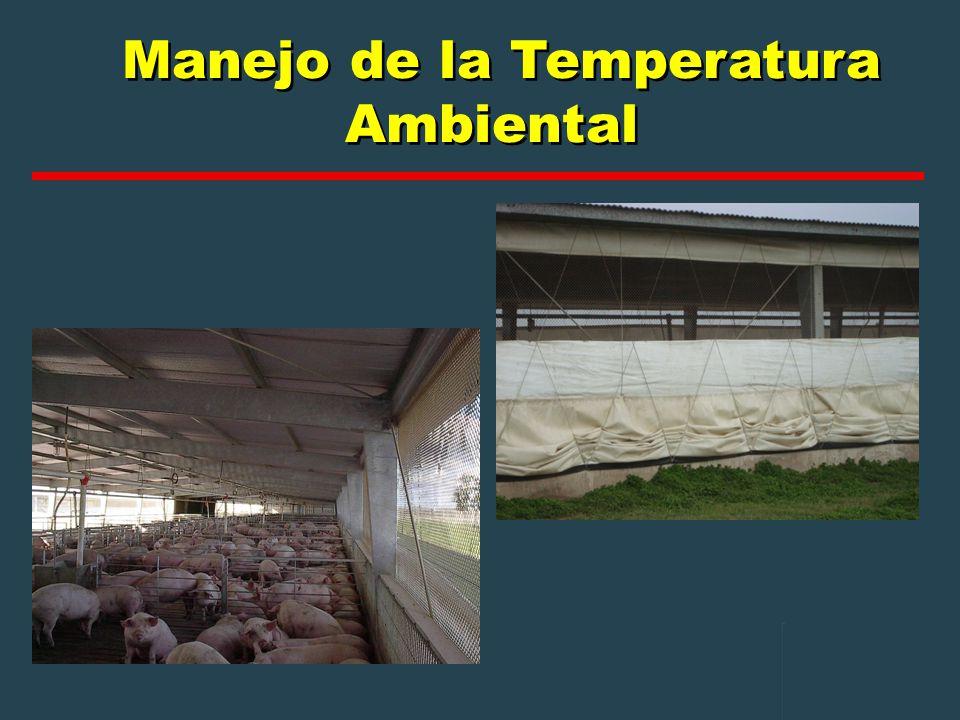 Manejo de la Temperatura Ambiental