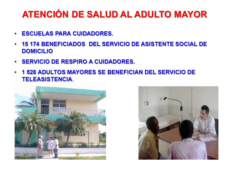 ATENCIÓN DE SALUD AL ADULTO MAYOR