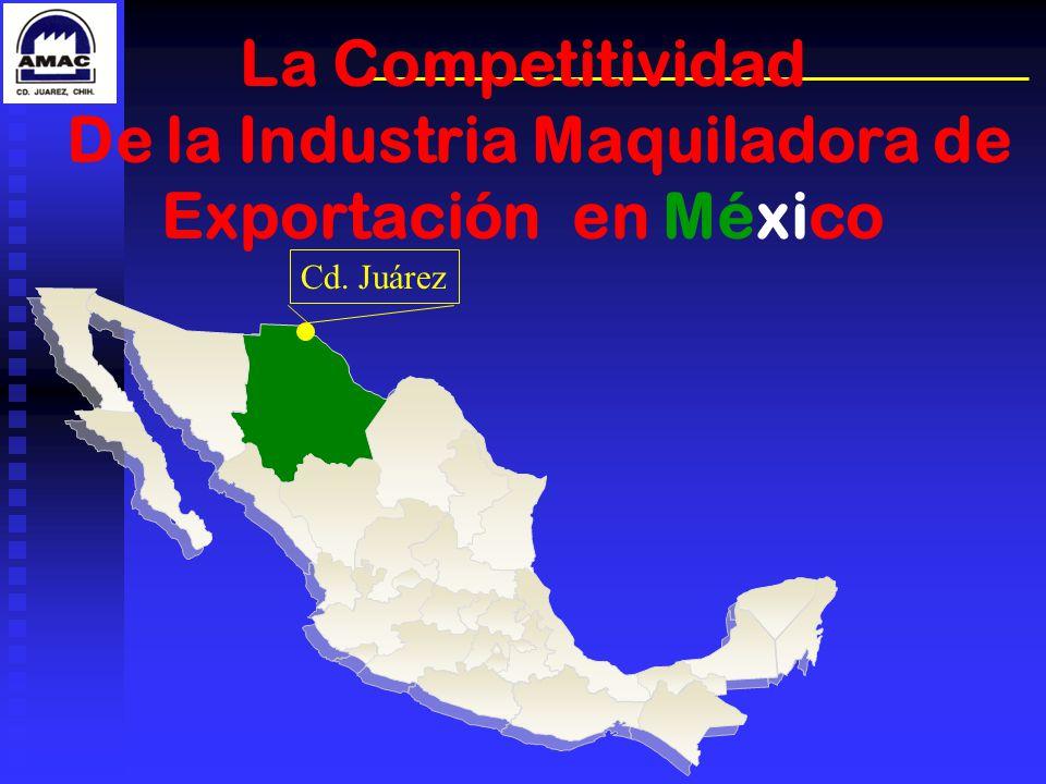 De la Industria Maquiladora de Exportación en México