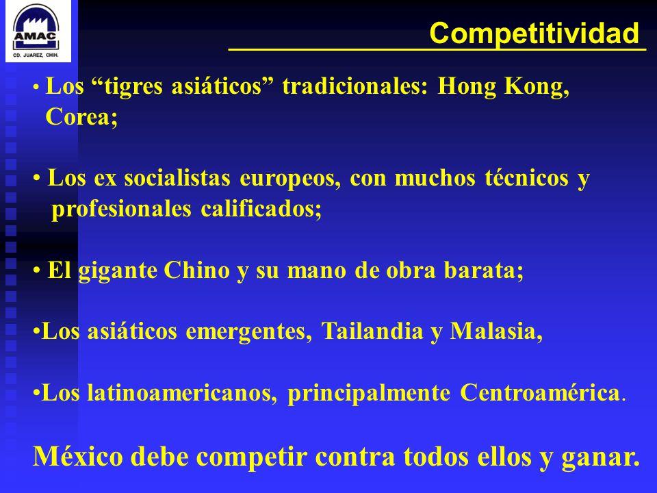 México debe competir contra todos ellos y ganar.