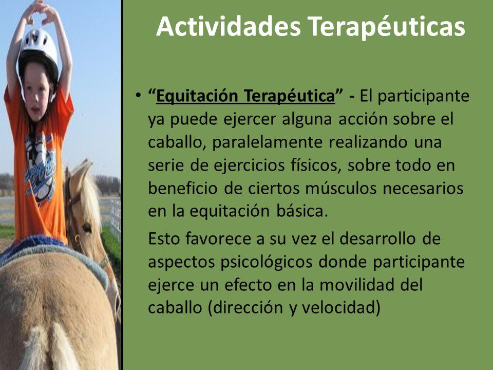 Actividades Terapéuticas