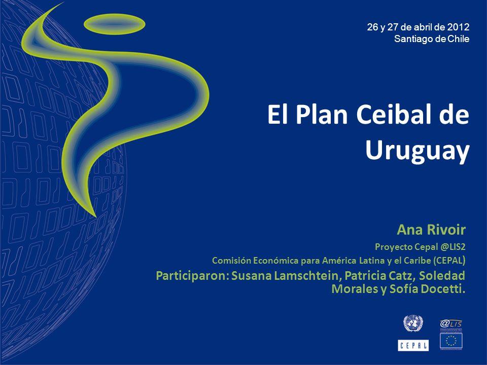 El Plan Ceibal de Uruguay