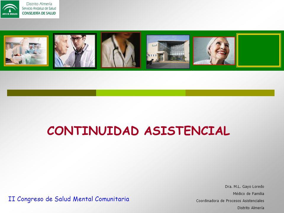 CONTINUIDAD ASISTENCIAL