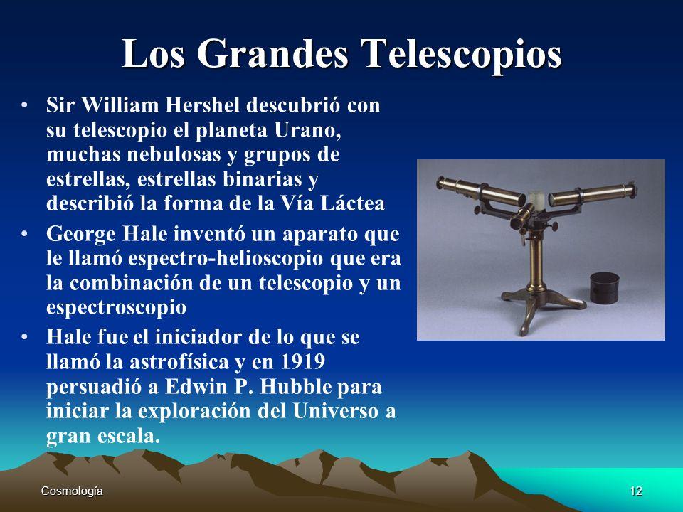 Los Grandes Telescopios