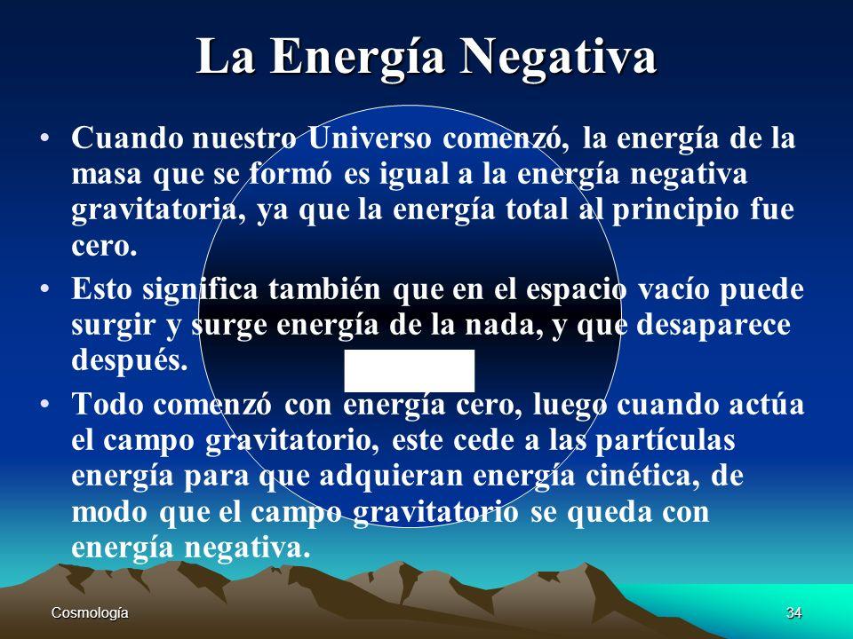 La Energía Negativa -
