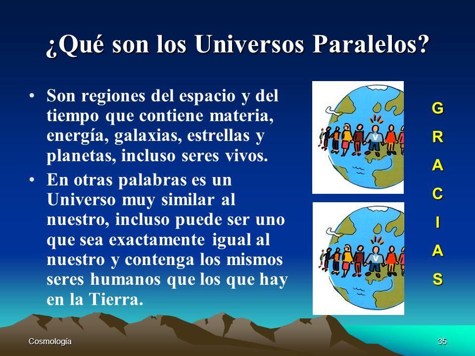 ¿Qué son los Universos Paralelos